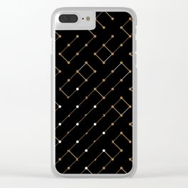 Artis 2.0, No.12 in Black & Gold Clear iPhone Case