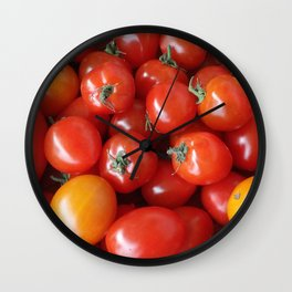 SIMPLY TOMATOES! Wall Clock