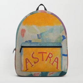 """Robert Delaunay """"Astra"""" (also known as Study for """"The Football Players of Cardiff"""") Backpack"""