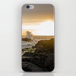 Sunset Horse Rider iPhone Skin