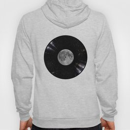 Awesome Moon and Stars Vinyl Hoody
