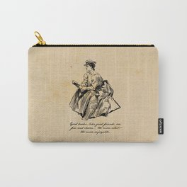 Lousia May Alcott - Good Books Carry-All Pouch