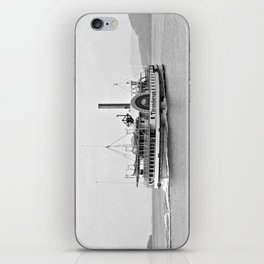 Ticonderoga Side Wheeler Steamboat iPhone Skin