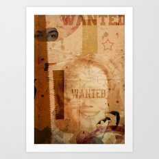 LOLITA:WANTED// Art Print