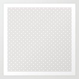 Dots (White/Platinum) Kunstdrucke