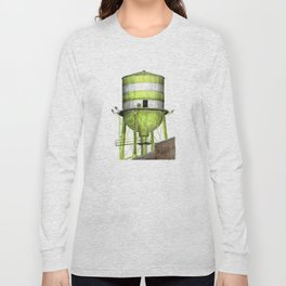 Montreal's Water Tower (Lachine Canal) Long Sleeve T-shirt