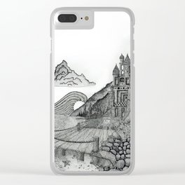 Castle the C Clear iPhone Case