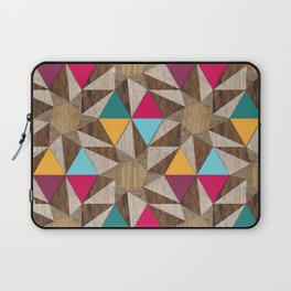Modern Marquetry (Color 2) Laptop Sleeve