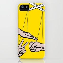Rock, Paper, Scissors iPhone Case