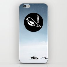 Flugsnappare iPhone & iPod Skin