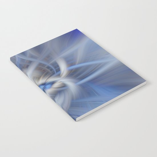 Abstract in blues Notebook