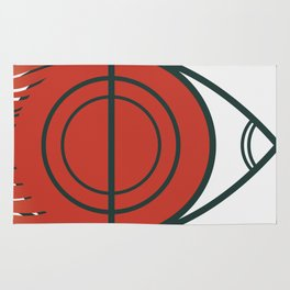 Uranus eye Rug
