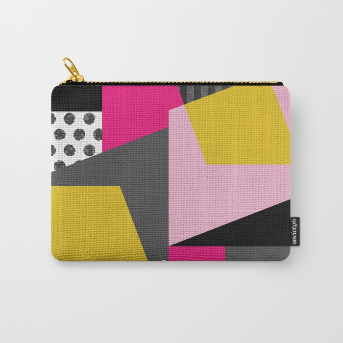 Geometric#13 Carry-All Pouch