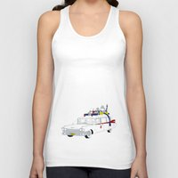 ghostbusters Tank Tops featuring Ghostbusters by Martin Lucas
