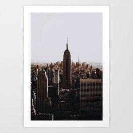 Rockefeller Center / New York City Art Print