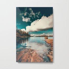 Belle Svezia Metal Print