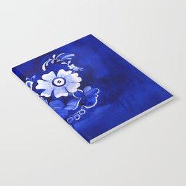 Delft Floral Notebook