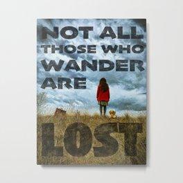 Not Lost - painting by Brian Vegas Metal Print