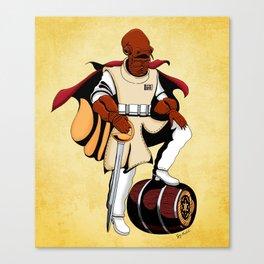 Captain Ackbar Canvas Print