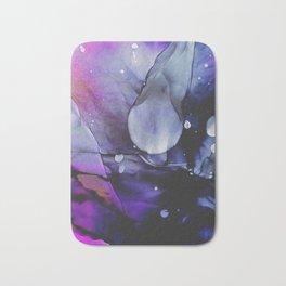 A Violet Gaze Bath Mat