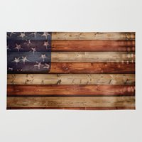 america Area & Throw Rugs featuring america by Arken25