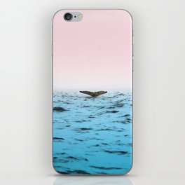 In the Middle of Ocean iPhone Skin