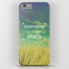 Happiness is a Day at the Beach Slim Case iPhone 6 Plus