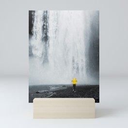 Skogafoss Waterfall, South Iceland Mini Art Print