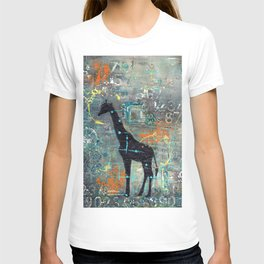 majestic series: this and that giraffe T-shirt