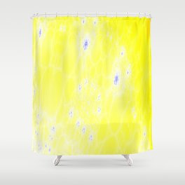the face of the sun Shower Curtain