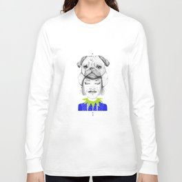 Mystic Pug Long Sleeve T-shirt