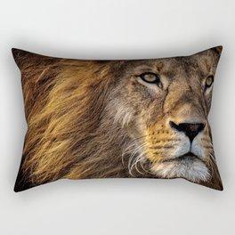 Majestic Lion Rectangular Pillow