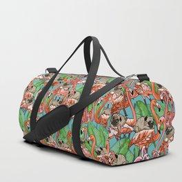 Flamingo Party Duffle Bag