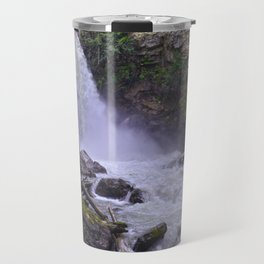 Summer Snow Melt - Waterfall & Forest Travel Mug