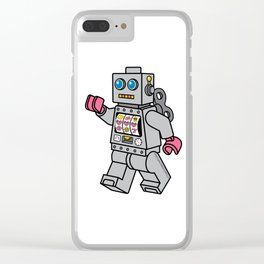 Love Bot Clear iPhone Case