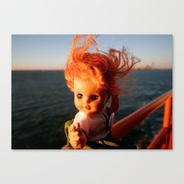 Ferry Girl Canvas Print