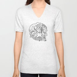 FBH Character Ball - Lines Unisex V-Neck