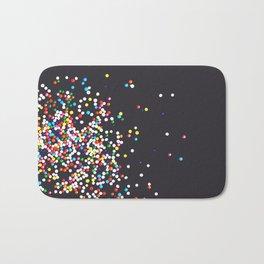 Sprinkles - Vintage Black Bath Mat
