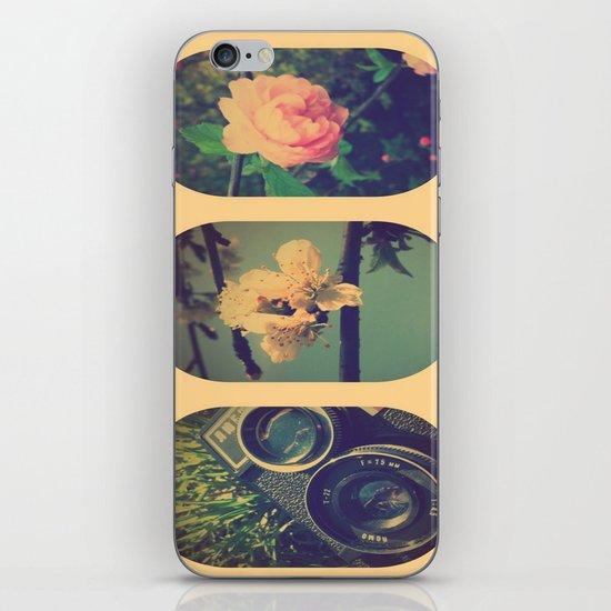 Spring collage iPhone & iPod Skin