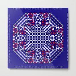 """Microchip"" 1 Metal Print"