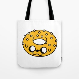 Cute Jake Donut Tote Bag