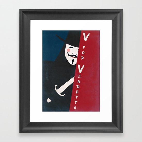 Remember Remember The Fifth Of November Vintage Framed Art Print