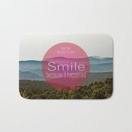 Smile Bath Mat
