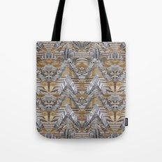 Wood Quilt 2 Tote Bag