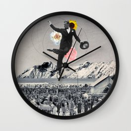 dream of dancing Wall Clock