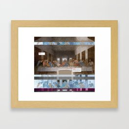 The Last Supper _review Framed Art Print