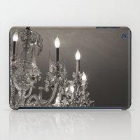 chandelier iPad Cases featuring Chandelier  by Nicole Webb