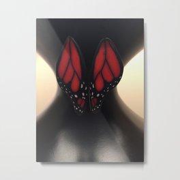 Butterfly Waist Metal Print