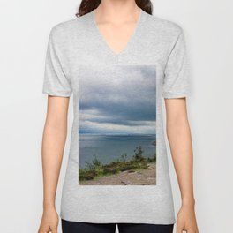 Stormy day Unisex V-Neck