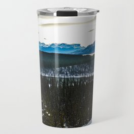 On route to Brule Alberta, Canada Travel Mug
